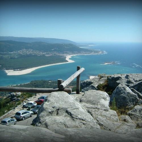 El monte de Santa Tecla