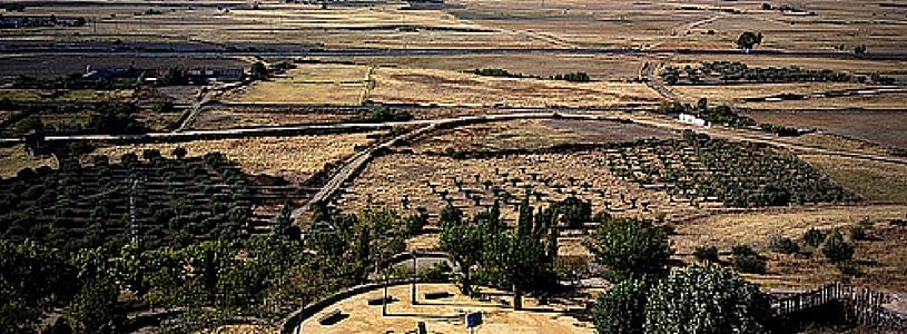 Oropesa (Toledo) vista desde el Castillo