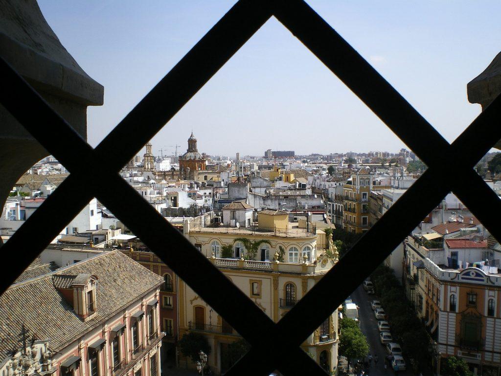 La Giralda de Sevilla: vistas del la ciudad