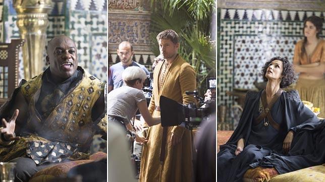 Rodaje de Juego de tronos en el Alcázar de Sevilla