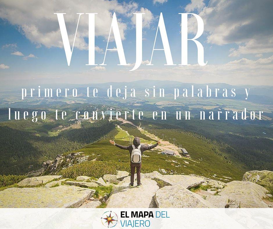 Frases Viajeras Blog De Turismo El Mapa Del Viajero
