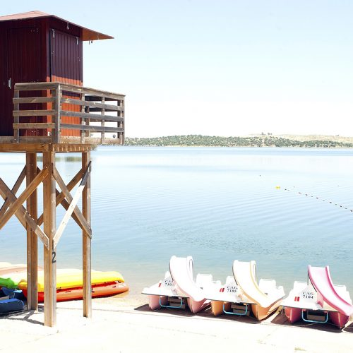 Orellana la Vieja: la playa dulce de Badajoz