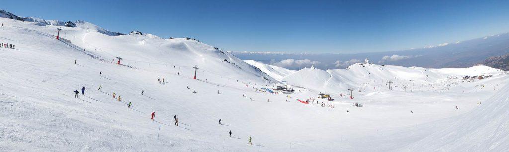 Estación de esquí en Granada, en Sierra Nevada