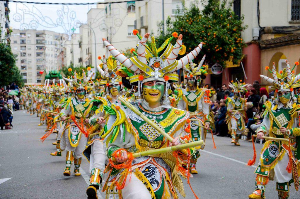 Carnaval en Badajoz, España