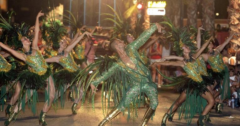 Carnaval en Sitges, España