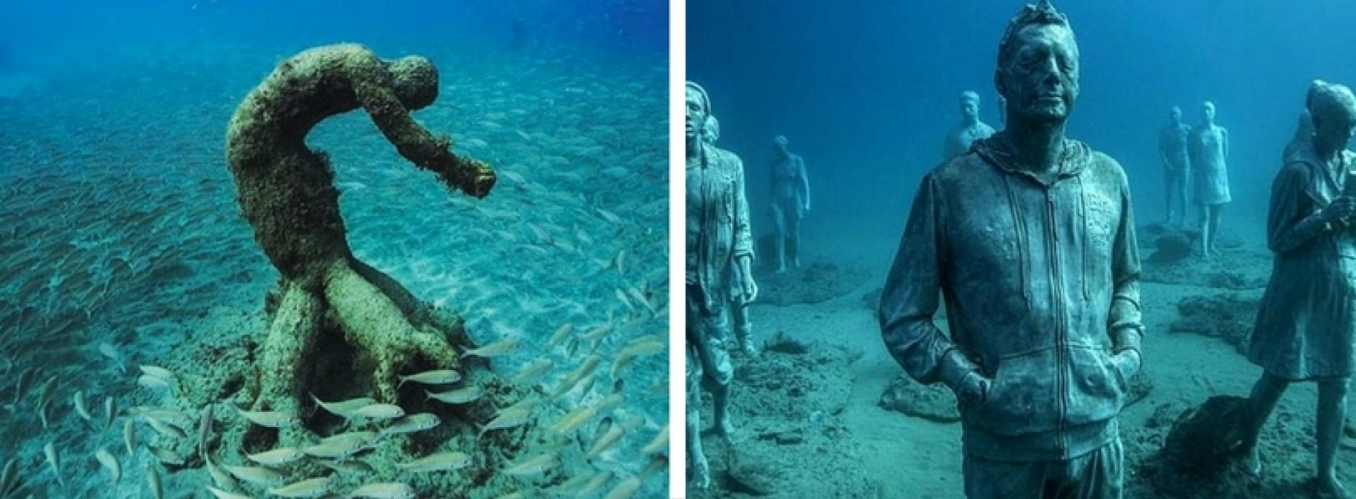 Atlántico, un museo bajo el mar