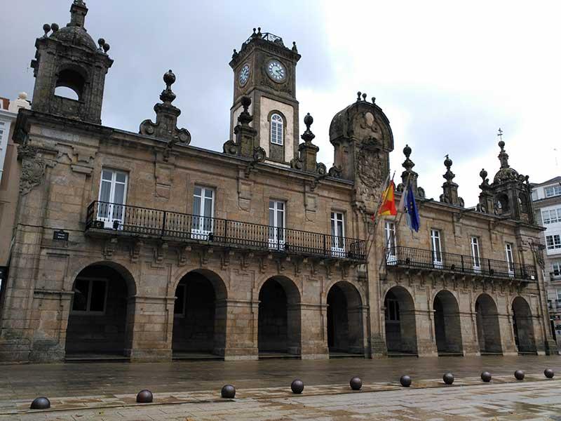 La Casa Consistorial de Lugo.