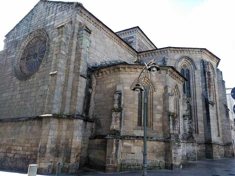 Iglesia de San Domingo en Lugo.