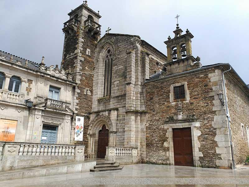 Iglesia de San Francisco en Lugo.