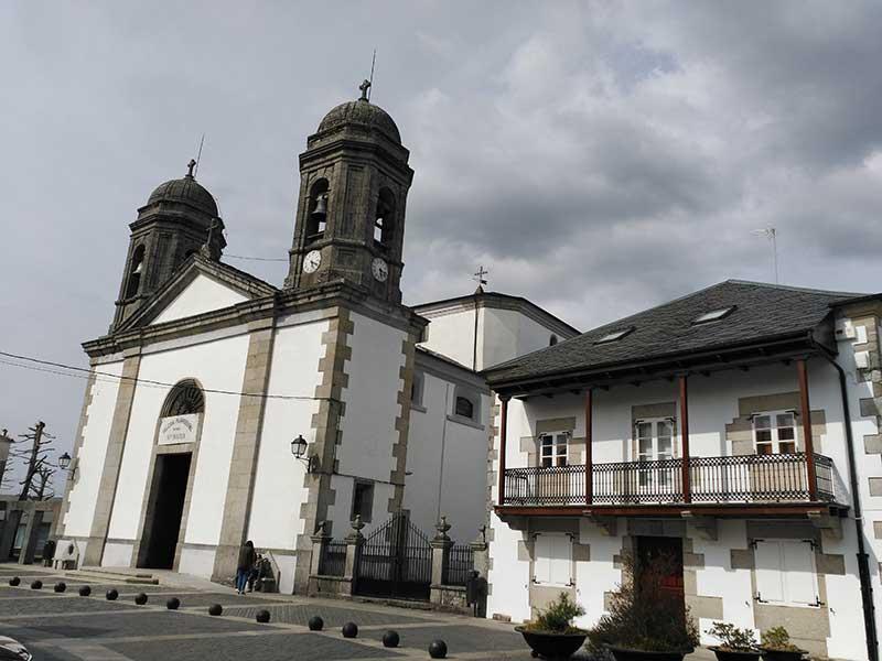 Iglesia de Santa María en Vilalba.