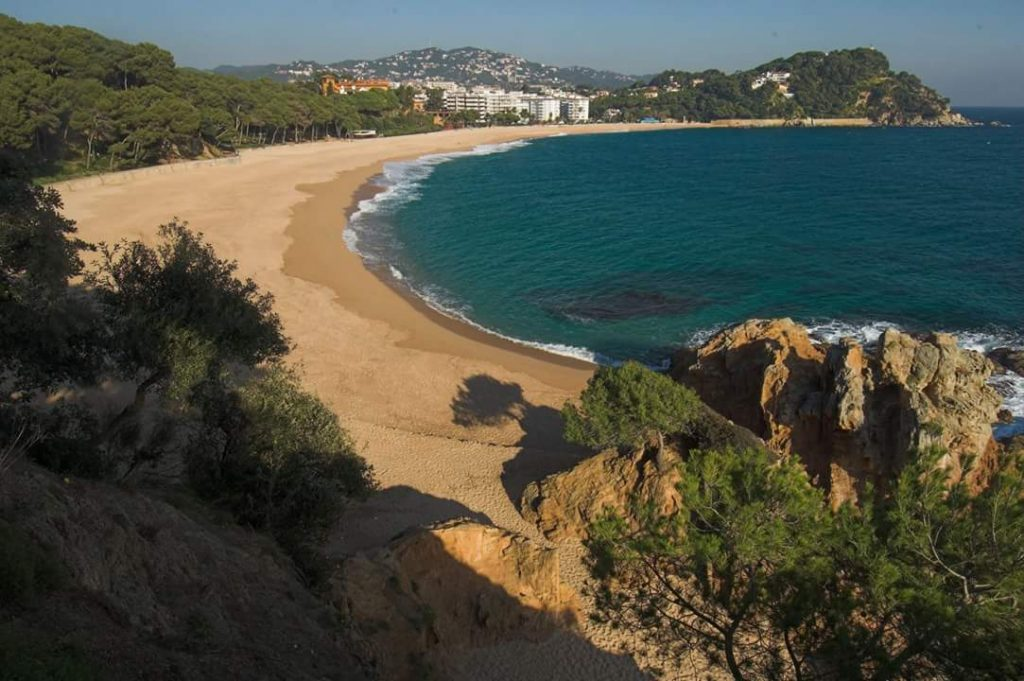 Playa de Fenals en Lloret de Mar