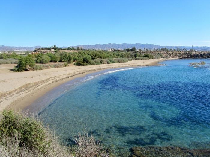 Playa del Matalentisco en Águilas