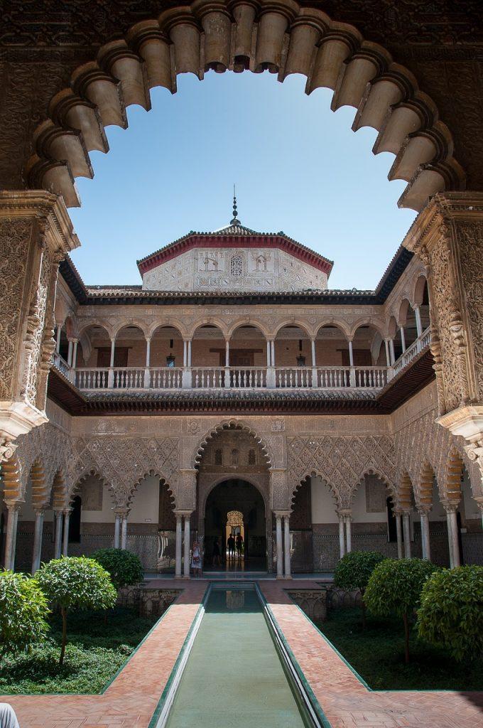 Alcázar, en Sevilla