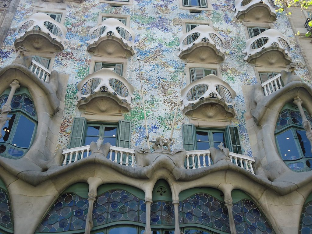 Casa Batllo, uno de los reclamos de Barcelona