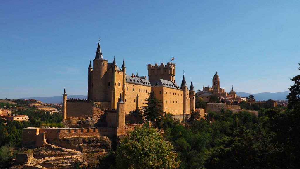 Segovia en una película Disney