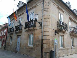 Casa do Concello en Sarria.