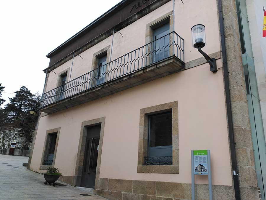 Hospital de San Antón Abade en Sarria.