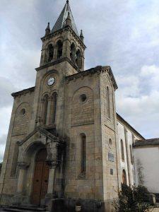 Iglesia de Santa Mariña en Sarria.