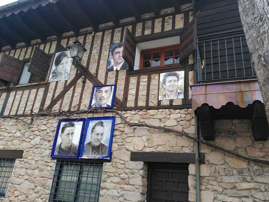 Retratos en Mogarraz.