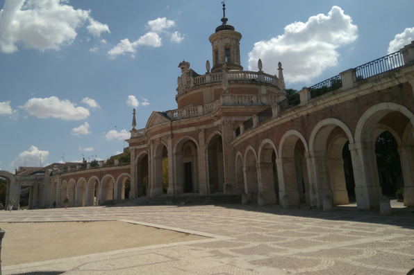 Plaza de parejas en Aranjuez