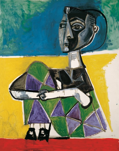 'Jacqueline Sentada', obra de Picasso