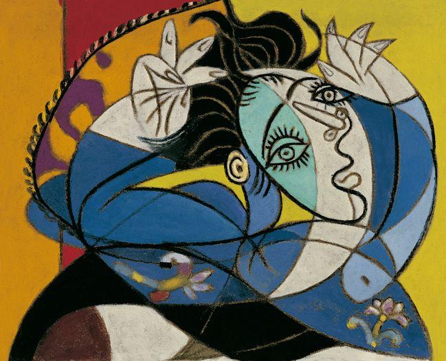 'Mujer con los Brazos Levantados' de Picasso.