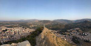 Cruz Castillo de Santa Catalina Jaén