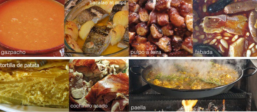 Los siete mejores platos españoles