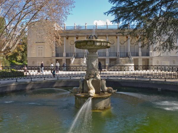 El Capricho - Jardín Artístico de la Alameda de Osuna en Madrid