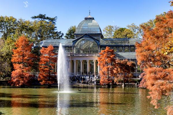 Palacio de Cristal en el Retiro de Madrid
