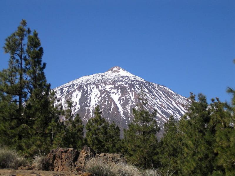 volcán del Teide en Tenerife